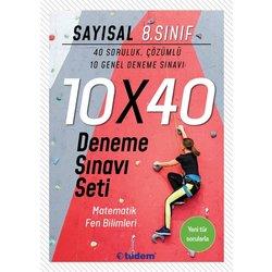 TUDEM 8.SINIF SAYISAL 10X40 DENEME SINAVI SETİ