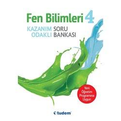 TUDEM 4.SINIF FEN BİLİMLERİ KAZANIM ODAKLI SORU BANKASI YENİ