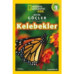 KELEBEKLER NATIONAL GEOGRAPHIC KIDS - LAURA MARSH - KOLEKSİYON YAYINCILIK