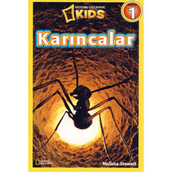 KARINCALAR NATIONAL GEOGRAPHIC KIDS - MELISSA STEWART - KOLEKSİYON YAYINCILIK