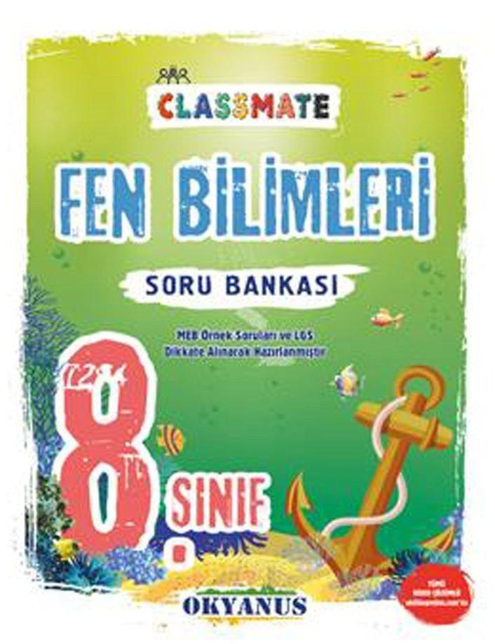 OKYANUS 8.SINIF FEN BİLİMLERİ CLASSMATE SORU BANKASI YENİ