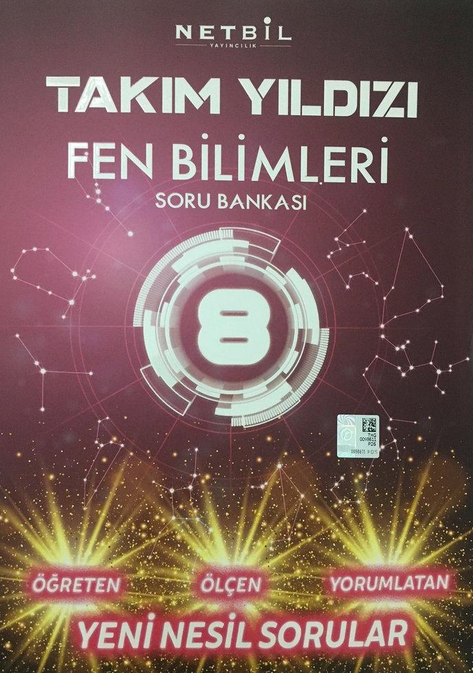 NETBİL 8.SINIF FEN BİLİMLERİ TAKIM YILDIZI SORU BANKASI YENİ ÜRÜN 2019