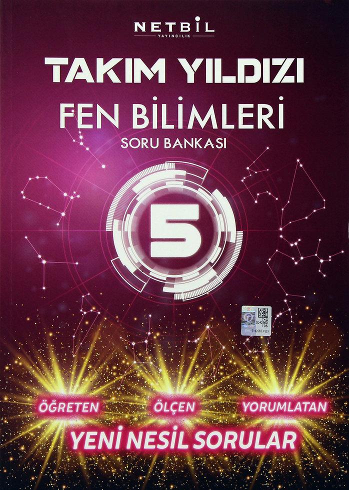 NETBİL 5.SINIF FEN BİLİMLERİ TAKIM YILDIZI SORU BANKASI YENİ ÜRÜN 2019