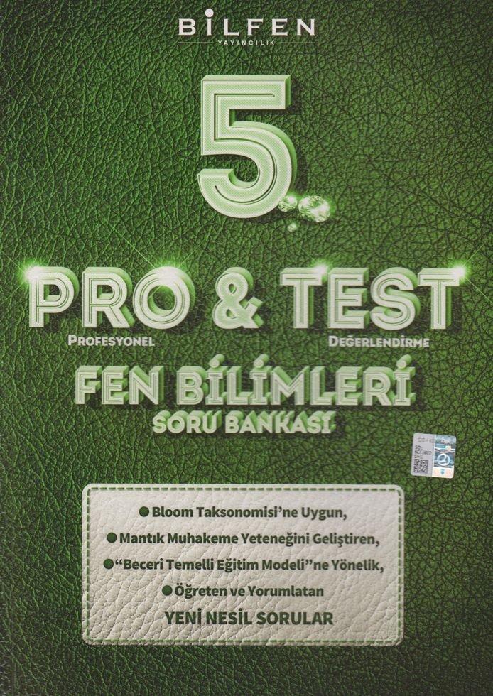 BİLTEST 5.SINIF FEN BİLİMLERİ PRO & TEST SORU BANKASI