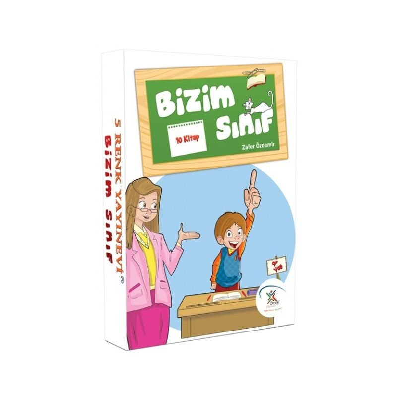 BEŞRENK BİZİM SINIF SERİSİ 10 KİTAP