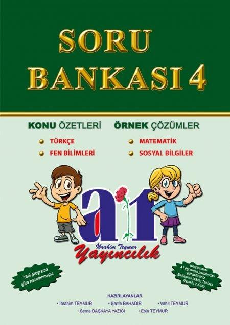 A1 4.SINIF TÜM DERSLER SORU BANKASI YENİ
