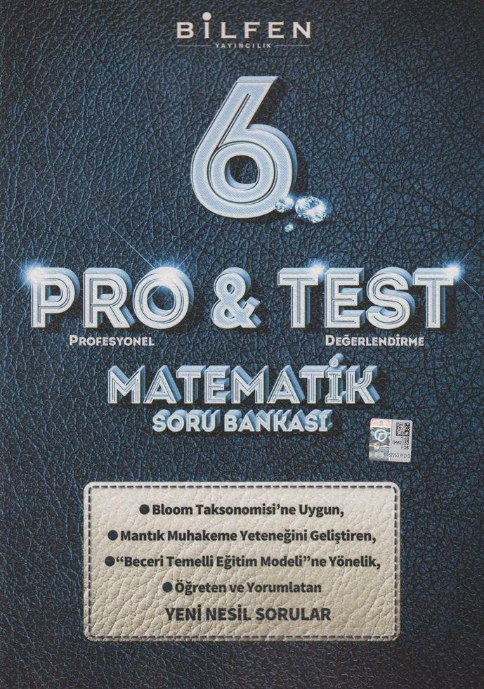 BİLTEST 6.SINIF MATEMATİK PRO & TEST SORU BANKASI YENİ ÜRÜN 2019