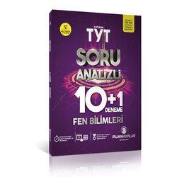 PUAN TYT FEN BİLİMLERİ 10+1 DENEME SINAVI YENİ