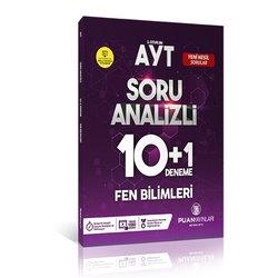 PUAN AYT FEN BİLİMLERİ 10+1 DENEME SINAVI