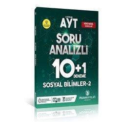 PUAN AYT SOSYAL BİLİMLER - 2 10+1 DENEME SINAVI YENİ 2019