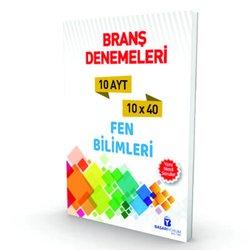 BAŞARIYORUM AYT FEN BİLİMLERİ BRANŞ 10 DENEMESİ