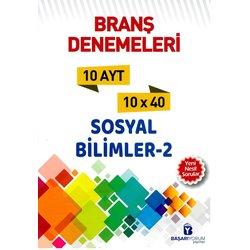 BAŞARIYORUM AYT SOSYAL BİLİMLER BRANŞ 10 DENEMESİ