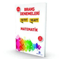 BAŞARIYORUM TYT - AYT MATEMATiK 2'Sİ BİR ARADA BRANŞ 10 DENEMESİ