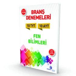 BAŞARIYORUM TYT - AYT FEN BİLİMLERİ 2'Sİ BİR ARADA BRANŞ 10 DENEMESİ