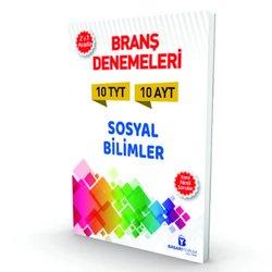 BAŞARIYORUM TYT - AYT SOSYAL BİLGİLER 2'Sİ BİR ARADA BRANŞ 10 DENEMESİ