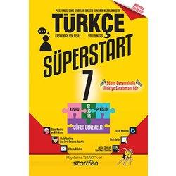 STARTFEN 7.SINIF TÜRKÇE SÜPERSTAR SERİSİ SORU BANKASI