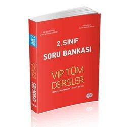 EDİTÖR 2.SINIF VİP TÜM DERSLER SORU BANKASI KIRMIZI KİTAP