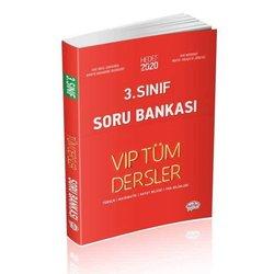 EDİTÖR 3.SINIF VİP TÜM DERSLER SORU BANKASI KIRMIZI KİTAP