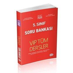 EDİTÖR 5.SINIF VİP TÜM DERSLER SORU BANKASI KIRMIZI KİTAP