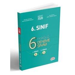 EDİTÖR 6.SINIF 6 DENEME SINAVI FASİKÜLLÜ