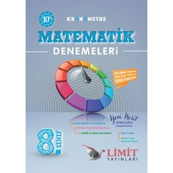 LİMİT 8.SINIF KRONOMETRE MATEMATİK  DENEMESİ