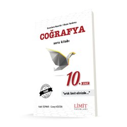 LİMİT 10.SINIF COĞRAFYA SORU KİTABI