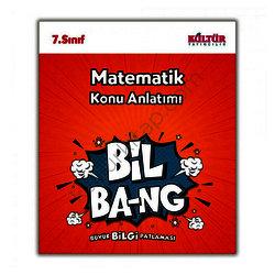 KÜLTÜR 7.SINIF MATEMATİK KONU ANLATIM BİL-BANG