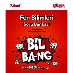 KÜLTÜR 7.SINIF FEN BİLGİSİ SORU BANKASI BİL-BANG