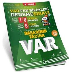 ARI 8.SINIF FEN BİLİMLERİ BAŞARININ TADINA VAR DENEME SINAVI