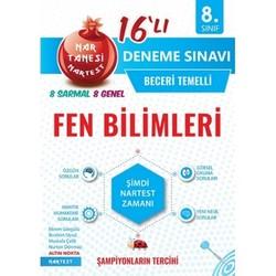 NARTEST 8.SINIF FEN BİLİMLERİ NARTANESİ 16 LI DENEME