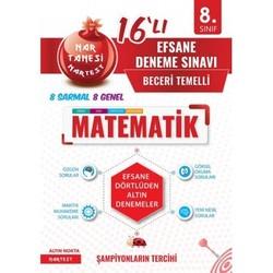 NARTEST 8.SINIF MATEMATİK NAR TANESİ EFSANE 16 DENEME