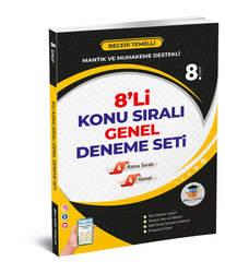 ZEKAKÜPÜ 8.SINIF 8'Lİ KONU SIRALI GENEL DENEME SETİ