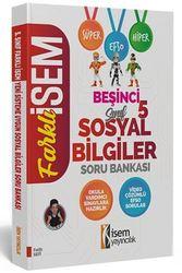 İSEM 5.SINIF SOSYAL BİLGİLER SORU BANKASI
