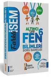 İSEM 6.SINIF FEN BİLİMLERİ SORU BANKASI