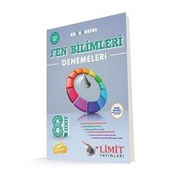 LİMİT 8.SINIF KRONOMETRE FEN BİLİMLERİ 12'Lİ DENEMELERİ