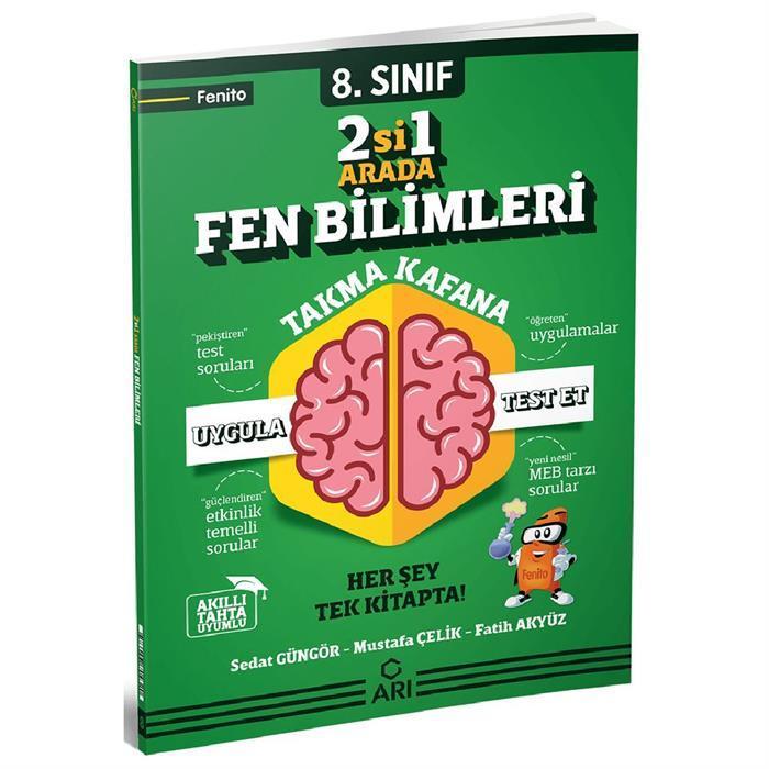 ARI 8.SINIF FEN BİLİMLLERİ 2 Sİ 1 ARADA