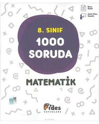 FİDES 8.SINIF MATEMATİK  1000  SORUDA YENİ 2018