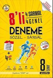 STARTFEN 8.SINIF 8'Lİ 4 SARMAL+ 4 GENEL DENEME