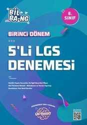 KÜLTÜR 8.SINIF US-TEROİT LGS 1.DÖNEM 5'Lİ DENEME