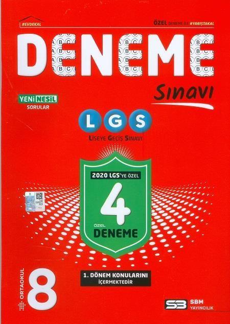 SBM 8.SINIF LGS 4 DENEME SINAVI
