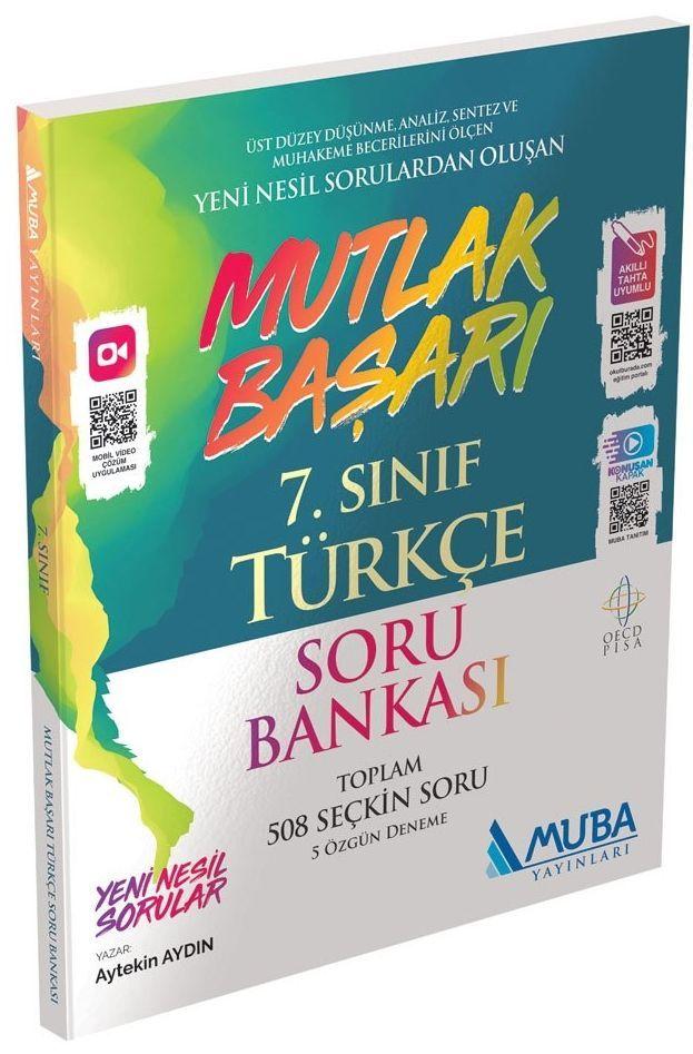 MUBA 7.SINIF TÜRKÇE MUTLAK BAŞARI SORU BANKASI