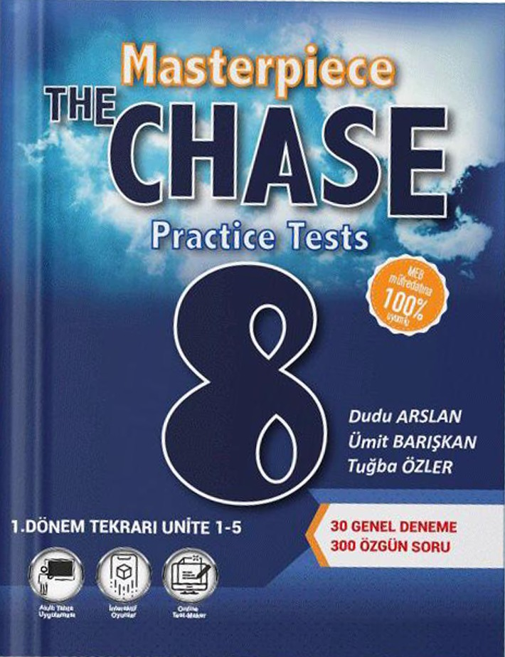 UNIVERSAL 8.SINIF THE CHASE MASTERPIESE PRACTICE TEST