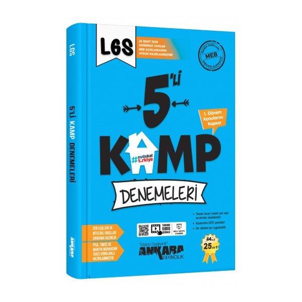 ANKARA YAY.8.SINIF LGS 5'Lİ KAMP DENEMELERİ