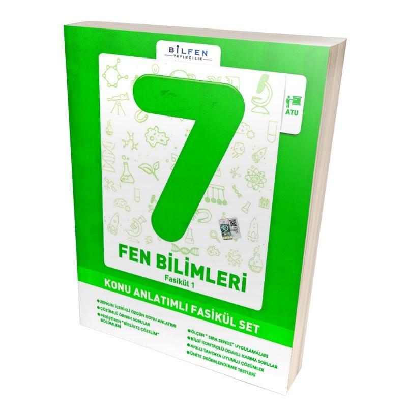 BİLFEN 7.SINIF FEN BİLİMLERİ KONU ANLATIMLI FASİKÜL SET YENİ 2019