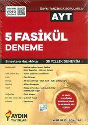 AYDIN AYT 5 FASİKÜL DENEME YENİ