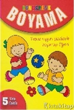 Rengarenk Boyama 5 Yaş üstü Kolektif Parıltı Yayınları