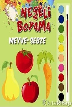 Neşeli Boyama Meyve Sebze Kolektif Parıltı Yayınları