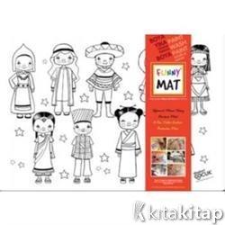 Funny Mat 1011 Dünya çocukları Kolektif Akademi çocuk Funny