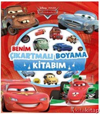 Disney Arabalar Benim çıkartmalı Boyama Kitabım Kollektif