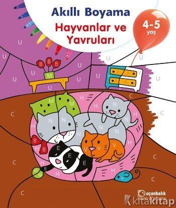 Akıllı Boyama Hayvanlar Ve Yavruları 4 5 Yaş Kollektif
